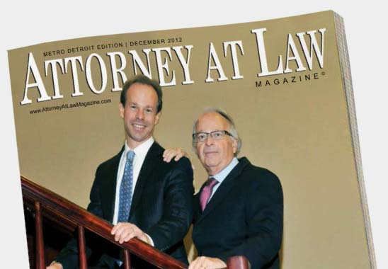 Read the Michigan Auto Law Feature in Attorney At Law Magazine