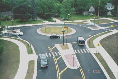 Michigan roundabout