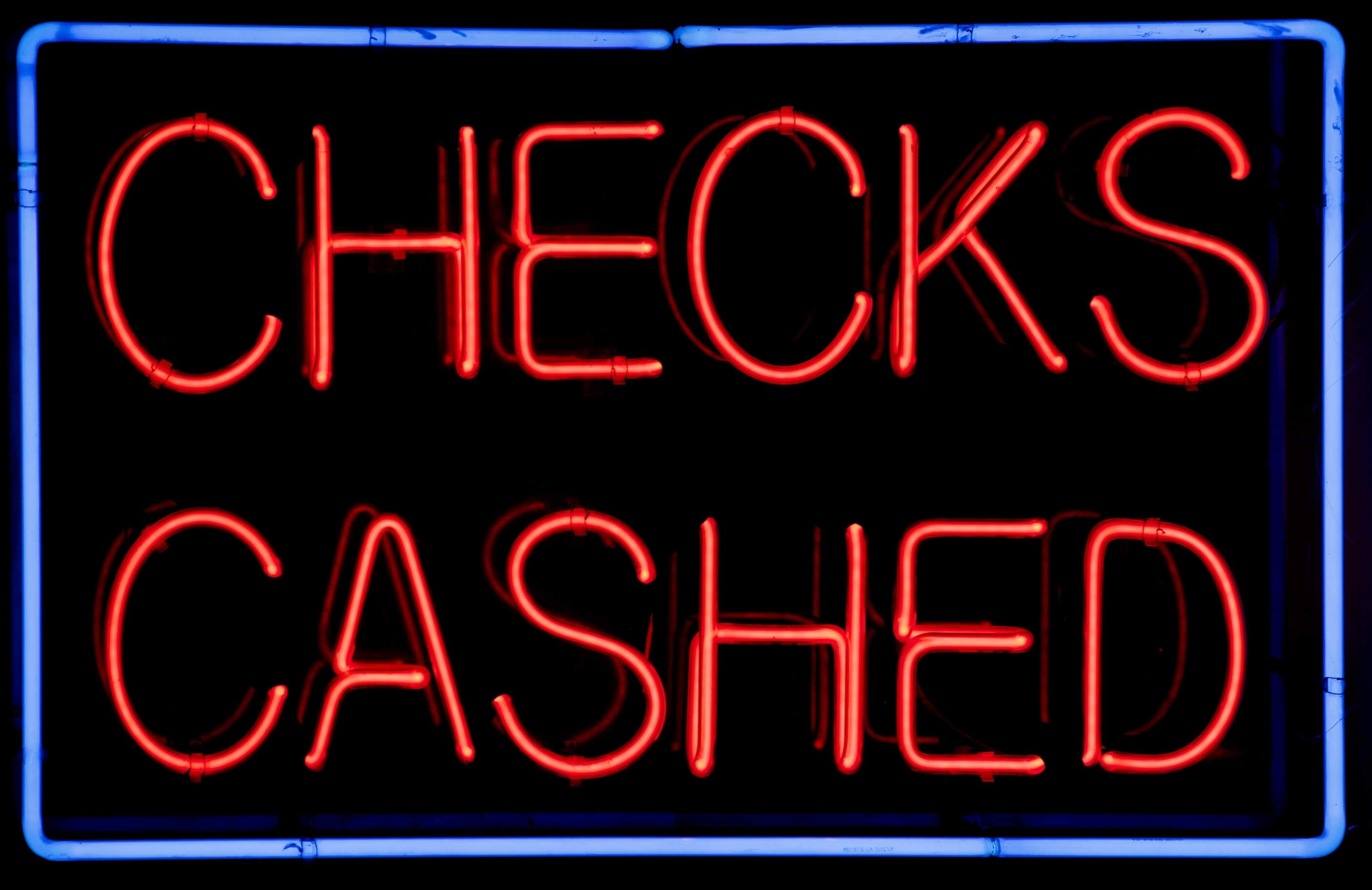 No Fault checks cashing scam