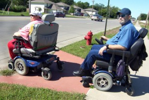 Are Elderly Disabled With Motorized Wheelchairs Uninsured