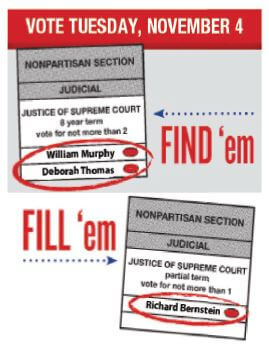 Michigan Supreme Court ballot