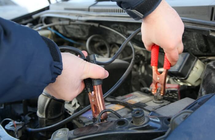 jumper cable safety tip