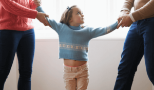 How can divorcing parents avoid No Fault problems with joint physical custody of their children?