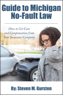 Guide to Michigan No Fault Law Ebook Cover