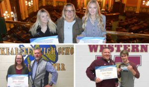 2018 Kelsey's Law Scholarship Winners - Isabel, Mikaylah, Jenna & Caleb - Michigan Auto Law