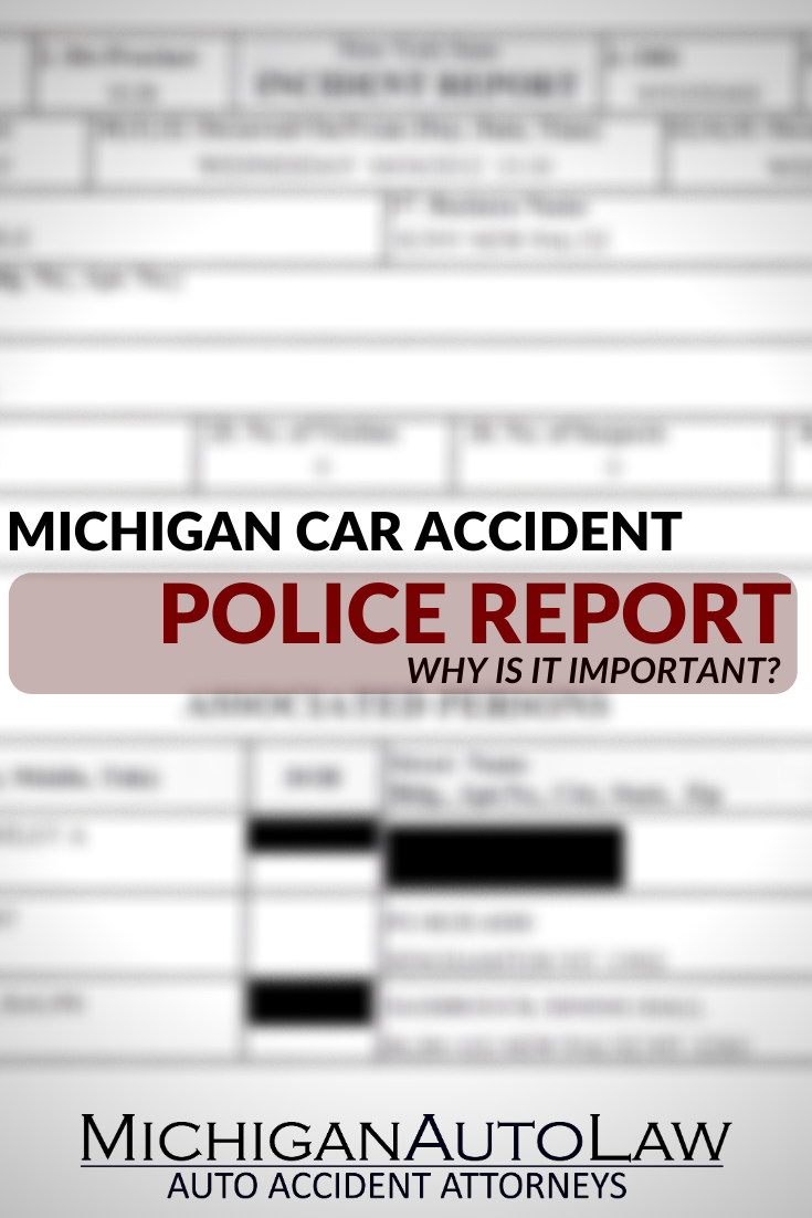 Michigan Car Accident Police Report FAQs