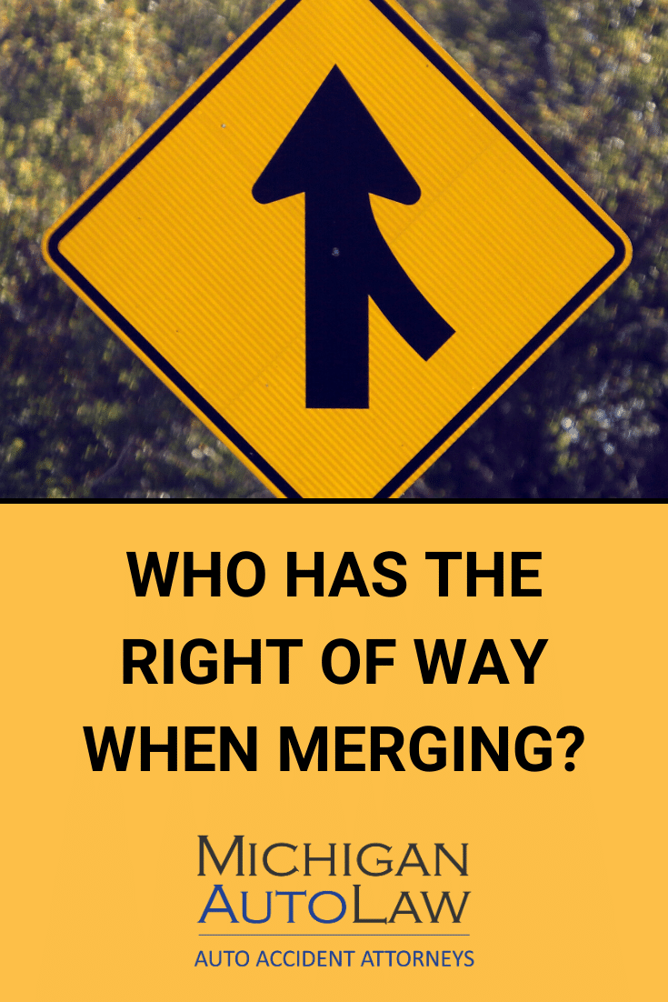 Merging Traffic Laws: Who Has The Right Of Way in Michigan?
