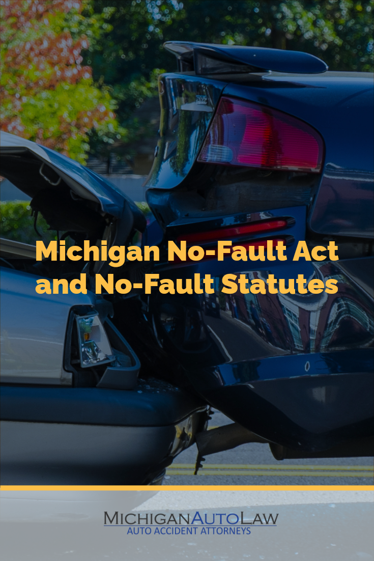 No-Fault Act and Statutes