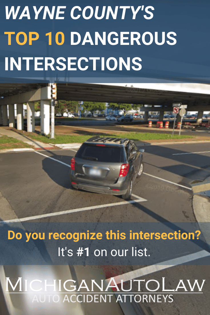 Wayne County's Most Dangerous Intersections in 2020